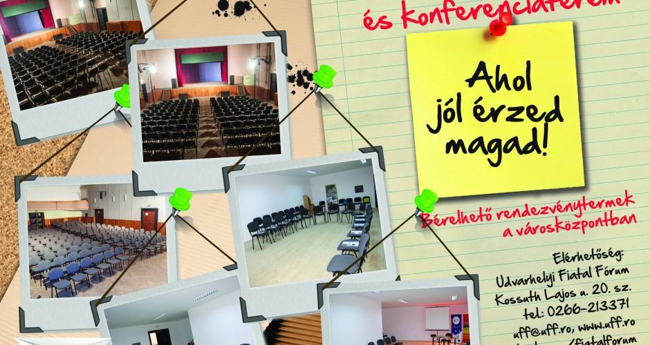 Bérelhető konferenciaterem