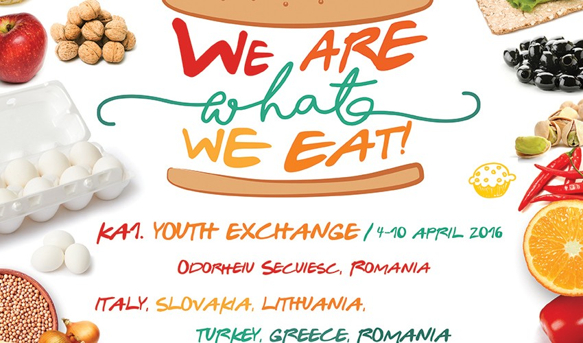 We are what we eat! ERASMUS+