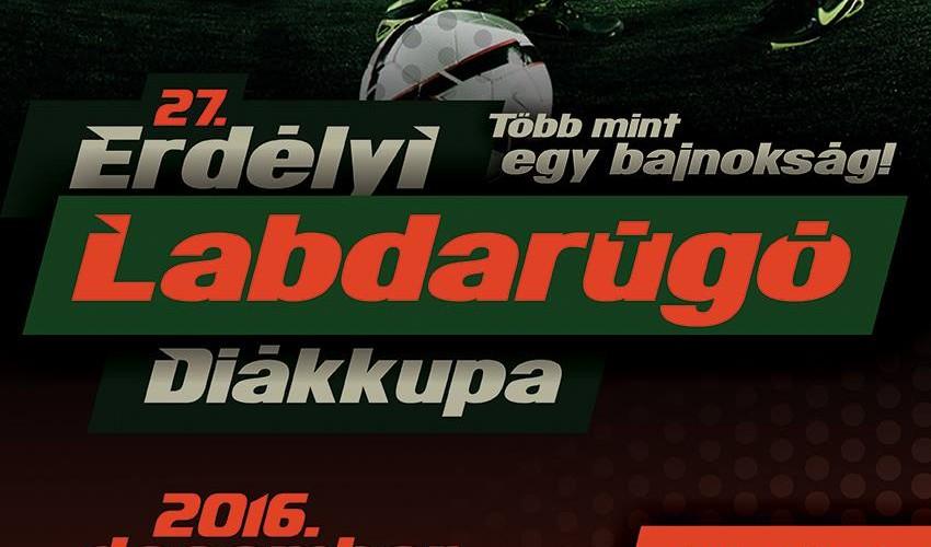 XXVII. Erdélyi Labdarúgó Diákkupa – Több mint egy bajnokság!