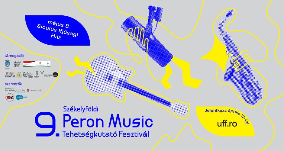 9. Peron Music Tehetségkutató – új dátum és jelentkezés